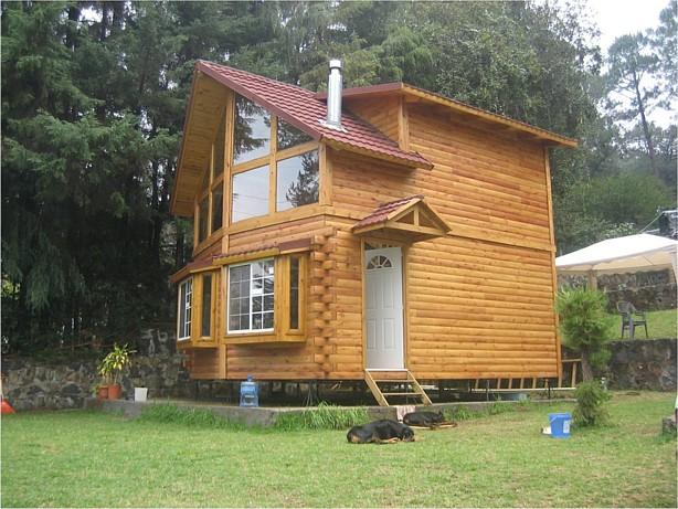Construcción de cabañas, casas de madera, chalets de madera, casas ...