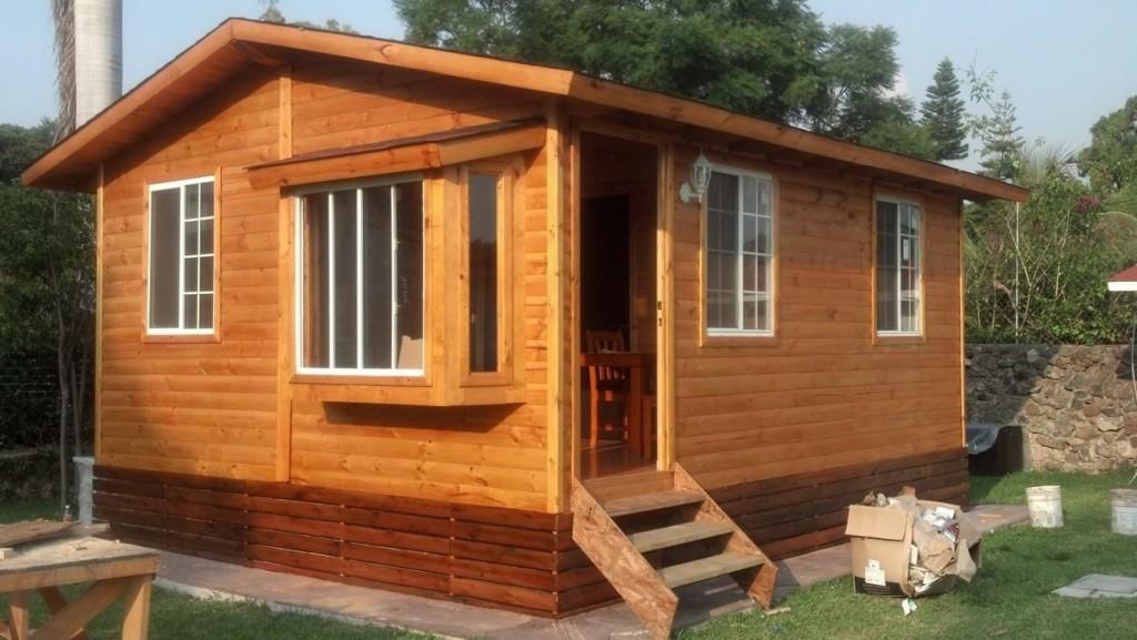 Construcci n de caba as casas de madera chalets de - Casas de madera modelos ...